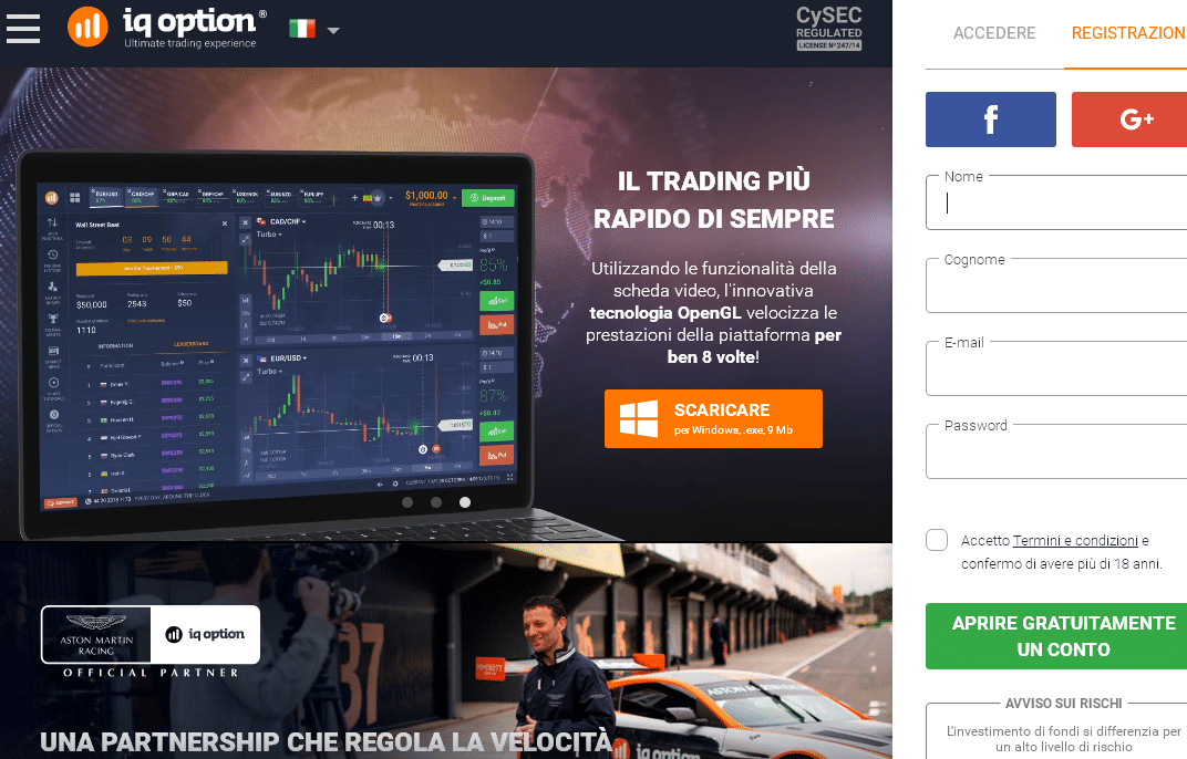iq option broker trading