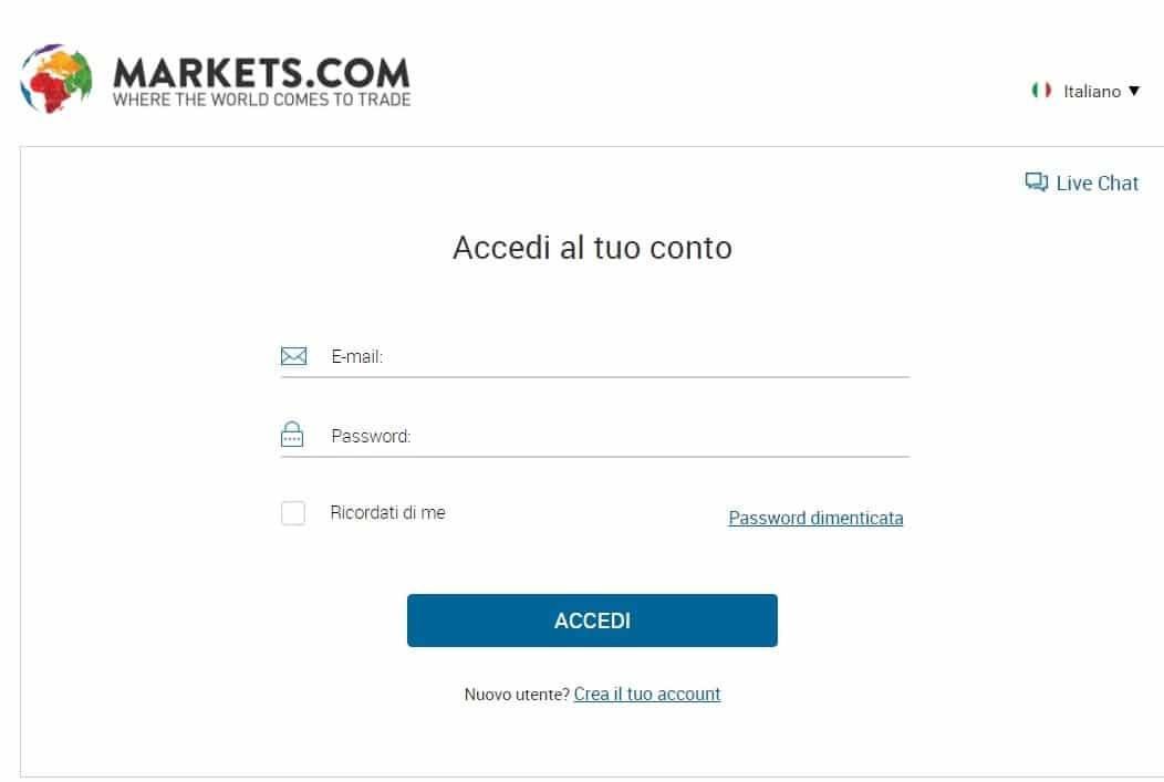 login-markets-com