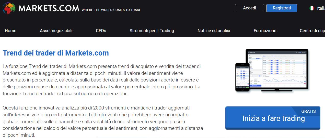 trend dei trader